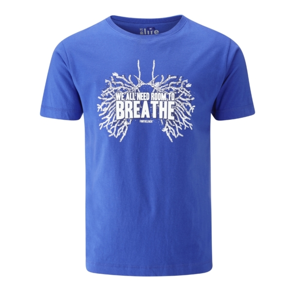 - صورة ROOM TO BREATHE T-SHIRT – royal blue