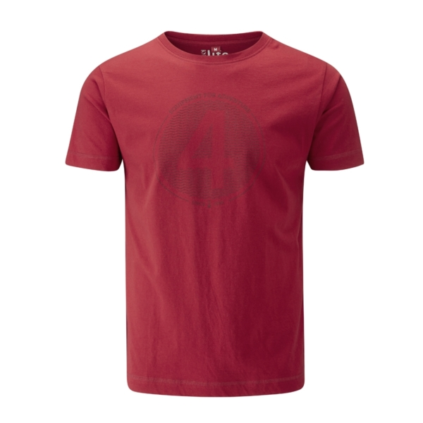 - صورة FOUR SEAS T-SHIRT – stereo red