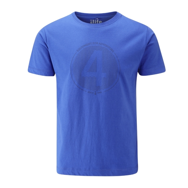 - صورة FOUR SEAS T-SHIRT – royal blue