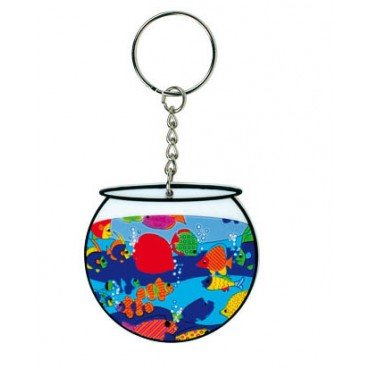 - صورة FISH BOWL KEYCHAIN