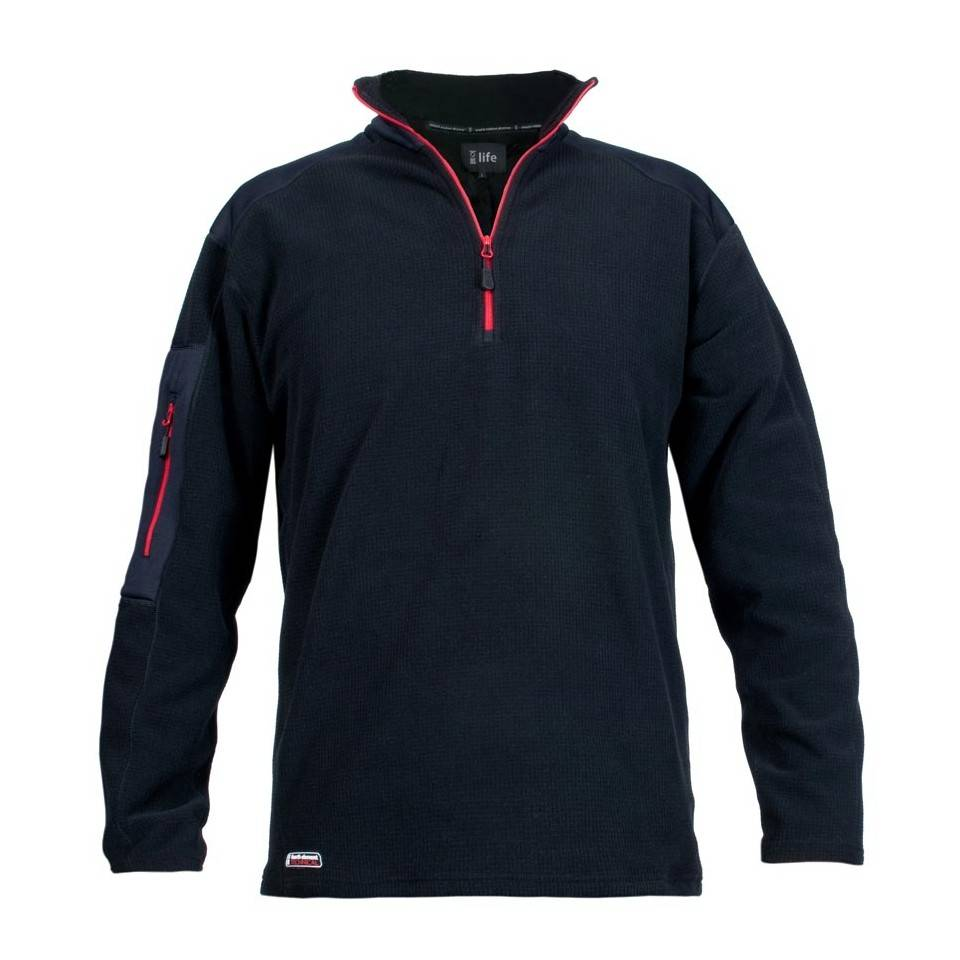 - صورة SCOTIA QUARTER ZIP - BLACK