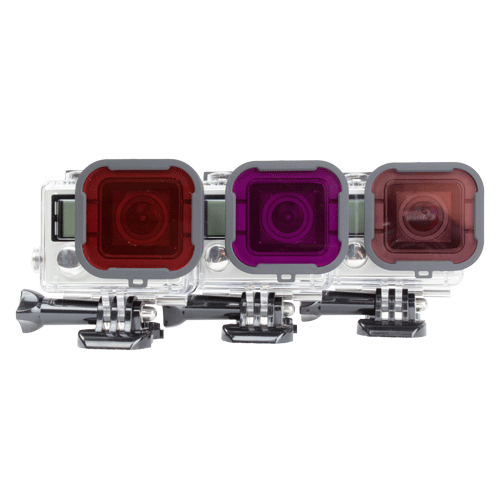 - صورة GOPRO FILTER 3-PACK / UNDERWATER