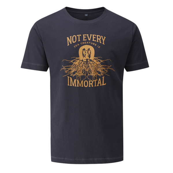 - صورة IMMORTAL T-SHIRT – navy